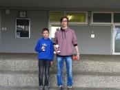 Eric Adelmann und Michael Maier nach ihren Pokalerfolgen in Balingen (Foto: Ehrlich)